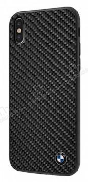 BMW iPhone X / XS Karbon Siyah Silikon Kılıf