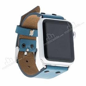 Bouletta Apple Watch / Watch 2 Gerçek Deri Kordon BRN4 (38 mm)