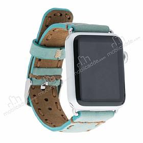 Bouletta Apple Watch Gerçek Deri Kordon G14 (38 mm)