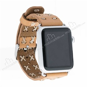 Bouletta Apple Watch Gerçek Deri Kordon G19 (38 mm)