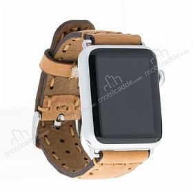 Bouletta Apple Watch Gerçek Deri Kordon G8 (42 mm)