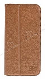 Bouletta Book Klug iPhone 7 Plus / 8 Plus Standlı Kapaklı Floater Tan Gerçek Deri Kılıf