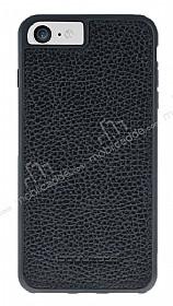 Bouletta Flex Cover iPhone 7 Floater Black Gerçek Deri Kılıf