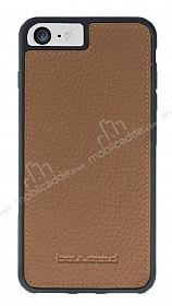 Bouletta Flex Cover iPhone 7 / 8 Floater Tan Gerçek Deri Kılıf