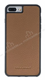 Bouletta Flex Cover iPhone 7 Plus Floater Tan Gerçek Deri Kılıf