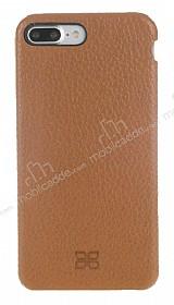 Bouletta Full Cover iPhone 7 Plus / 8 Plus Kahverengi Gerçek Deri Kılıf