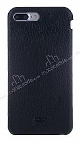 Bouletta Full Cover iPhone 7 Plus Siyah Gerçek Deri Kılıf