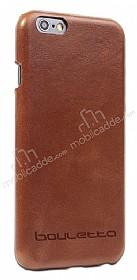 Bouletta Ultimate Jacket iPhone 6 Plus / 6S Plus Kahverengi Gerçek Deri Kılıf
