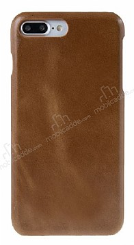 Bouletta Ultimate Jacket iPhone 7 Plus / 8 Plus RST2 Kahverengi Gerçek Deri Kılıf