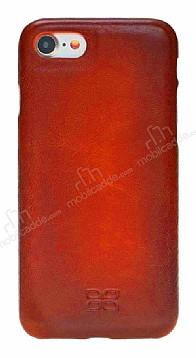Bouletta Ultra Cover iPhone 7 / 8 V4EF Kırmızı Gerçek Deri Kılıf