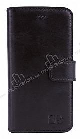 Bouletta Wallet ID iPhone 6 Plus / 6S Plus Standlı Kapaklı Siyah Gerçek Deri Kılıf