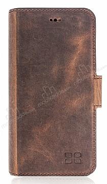 Bouletta Wallet ID iPhone 7 / 8 RST2EF Standlı Kapaklı Gerçek Deri Kılıf