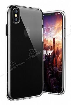Buff Air Hybrid iPhone X Ultra Koruma Şeffaf Kılıf