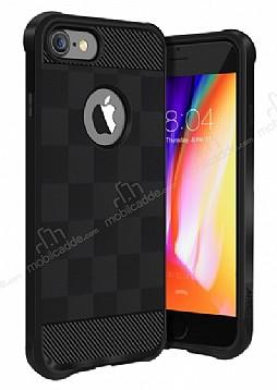 Buff Black Armor iPhone 8 Ultra Koruma Siyah Kılıf