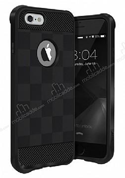 Buff Black Armor iPhone 6 / 6S Ultra Koruma Siyah Kılıf