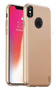 Buff Slim Fit iPhone X Ultra Koruma Gold Kılıf