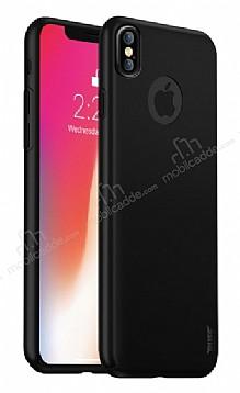 Buff Slim Fit iPhone X Ultra Koruma Mat Siyah Kılıf
