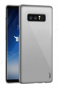 Buff Slim Fit Samsung Galaxy Note 8 Ultra Koruma Silver Kılıf