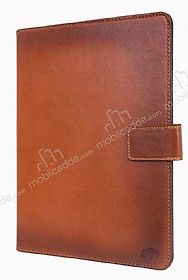 Burkley Cover Wallet Folio Apple iPad Pro 9.7 Special Burned Tan Gerçek Deri Kılıf