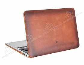 Burkley Hardshell Macbook Air 11 inç Special Burnished Gerçek Deri Kılıf