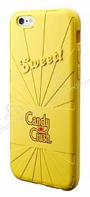 Candy Crush iPhone 6 / 6S Lemon Silikon Kılıf