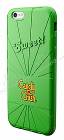 Candy Crush iPhone 6 / 6S Apple Silikon Kılıf