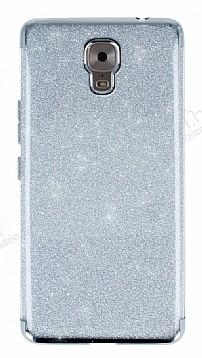 Casper Via A1 Plus Simli Silver Silikon Kılıf