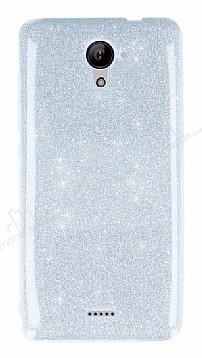 Casper Via E2 Simli Silver Silikon Kılıf