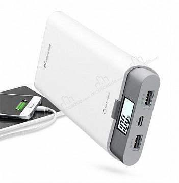 Cellular Line FreePower Ultra 20000 mAh Powerbank Beyaz Yedek Batarya