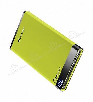 Cellular Line Manta 6000 mAh Powerbank Yeşil Yedek Batarya