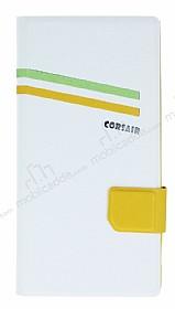 Corsair Sony Xperia T2 Ultra Standlı Cüzdanlı Beyaz Kılıf