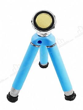 Eiroo 360 Derece Dönebilen Mavi Manyetik Tripod