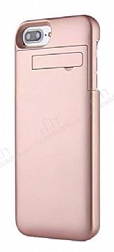 Cortrea iPhone 7 Plus / 8 Plus 10000 mAh Bataryalı Rose Gold Kılıf