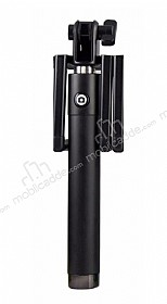 Cortrea iPhone 7 Siyah Lightning Girişli Tuşlu Selfie Çubuğu