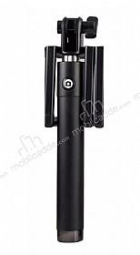 Cortrea iPhone Siyah Lightning Girişli Tuşlu Selfie Çubuğu