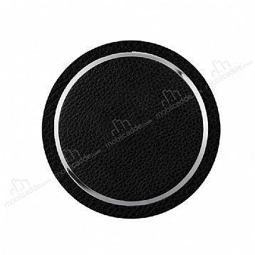 Cortrea Kablosuz Deri Siyah Hızlı Şarj Cihazı