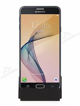 Cortrea Samsung Galaxy J7 Prime Micro USB Masaüstü Dock Siyah Şarj Aleti