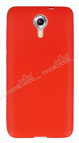 Dafoni Air Slim General Mobile Android One Ultra �nce Mat K�rm�z� Silikon K�l�f