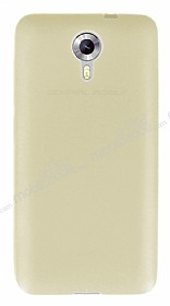 Dafoni Air Slim General Mobile Android One / General Mobile GM 5 Ultra İnce Mat Gold Silikon Kılıf