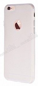 Dafoni Air Slim iPhone 6 Plus / 6S Plus Ultra İnce Mat Şeffaf Silikon Kılıf