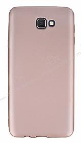 Samsung Galaxy J7 Prime Ultra İnce Mat Rose Gold Silikon Kılıf