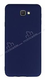 Samsung Galaxy J7 Prime Ultra İnce Mat Lacivert Silikon Kılıf