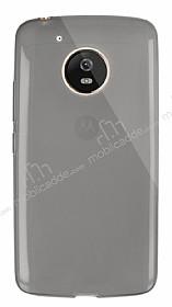 Dafoni Aircraft Motorola Moto G5 Ultra İnce Şeffaf Siyah Silikon Kılıf