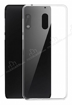 Dafoni Aircraft Nokia 7 Plus Ultra İnce Şeffaf Silikon Kılıf