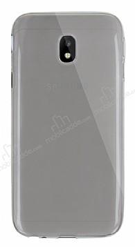Dafoni Aircraft Samsung Galaxy J3 2017 Ultra İnce Şeffaf Siyah Silikon Kılıf