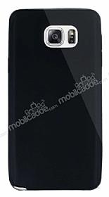 Dafoni Aircraft Samsung Galaxy Note 5 Ultra İnce Siyah Silikon Kılıf