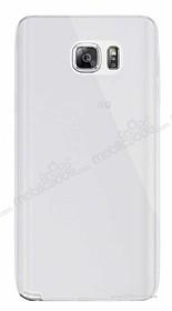 Dafoni Aircraft Samsung Galaxy Note 5 Ultra İnce Şeffaf Silikon Kılıf