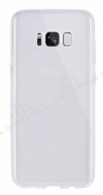 Dafoni Aircraft Samsung Galaxy S8 Ultra İnce Şeffaf Silikon Kılıf