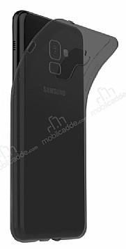 Dafoni Aircraft Samsung Galaxy S9 Plus Ultra İnce Şeffaf Siyah Silikon Kılıf