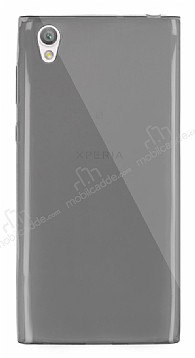 Dafoni Aircraft Sony Xperia L1 Ultra İnce Şeffaf Siyah Silikon Kılıf